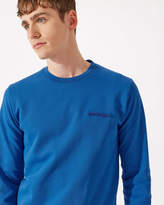 Towelling Detail Sweater