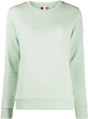 Rossignol Racer Stripe Cotton Blend Sweatshirt