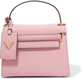 Valentino My Rockstud Medium Textured-leather Tote - Pink