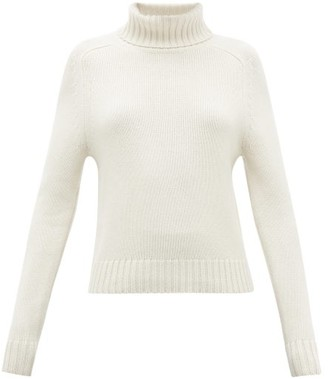 Nili Lotan Atwood Roll-neck Cashmere Sweater - Womens - Ivory