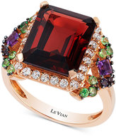 LeVian Le Vian Crazy Collection Multi-Gemstone (7-1/10 ct. t.w.) Ring in 14k Rose Gold