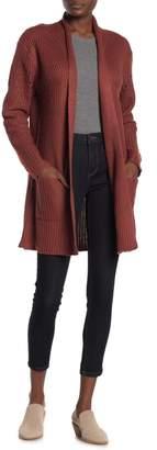 Blu Pepper Knit Open Front Cardigan