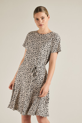 Seed Heritage Ocelot Jersey Dress