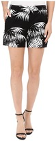 Vince Camuto Palm Silhouette Shorts