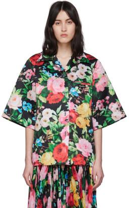 Richard Quinn Multicolor Floral Hawaiian Shirt
