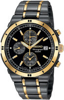 Seiko Mens TiCN Chronograph Watch SNAA30