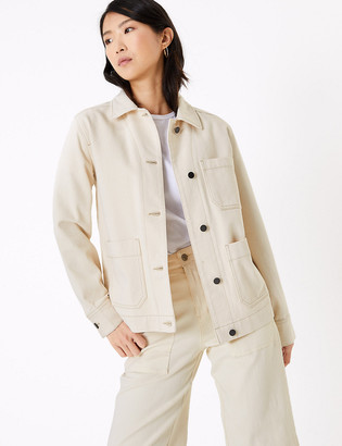 Marks and Spencer Denim Utility Jacket