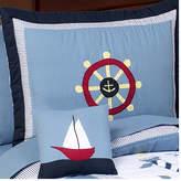 JoJo Designs Sweet Come Sail Away Toddler Standard Pillow Case
