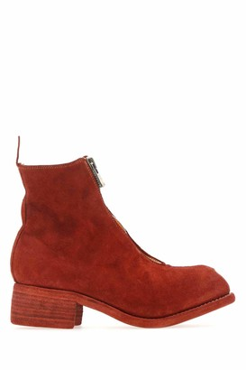 Guidi PL1 Suede Ankle Boots