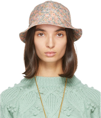 Gucci Pink Liberty London Edition Floral Bucket Hat