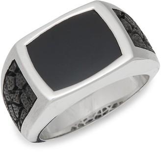 Effy Sterling Silver Black Onyx Ring