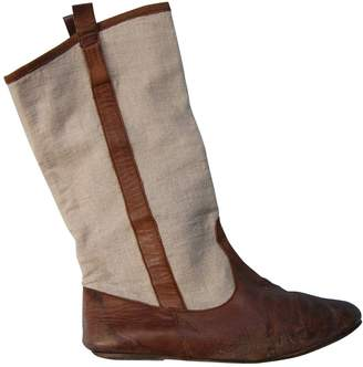Etoile Isabel Marant \N Beige Leather Boots