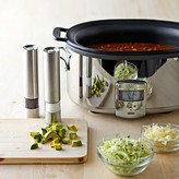 All-Clad Deluxe Slow Cooker with Cast-Aluminum Insert, 7 Qt.