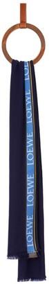 Loewe Logo-Trim Scarf