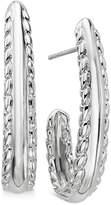 Nambe Braid Drop Earrings in Sterling Silver, Created for Macy's