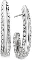 Nambe Braid Drop Earrings in Sterling Silver, Only at Macy's