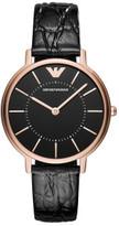 Emporio Armani Kappa Black Watch