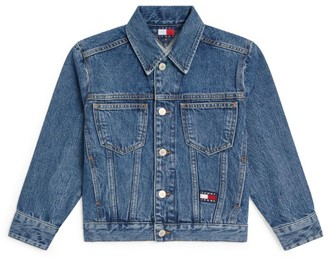 Tommy Hilfiger Junior Flag Logo Denim Jacket