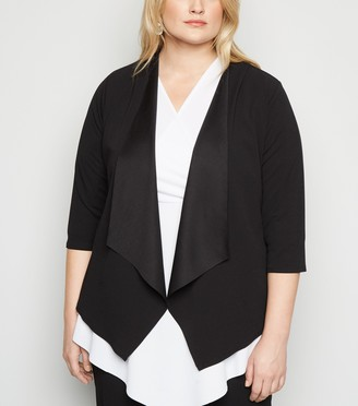 New Look Just Curvy Waterfall Jacket