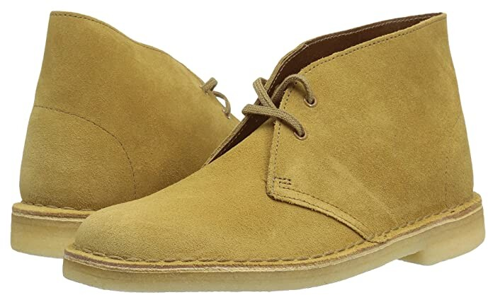 Clarks Suede Desert Boots - Brown