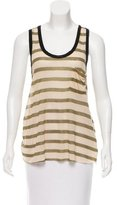 Enza Costa Striped Sleeveless Top w/ Tags
