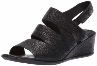 Ecco Open Toe Heels Shape 35 Wedge Sandal Womens