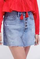 Free People Denim Aline Skirt