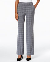 Charter Club Tummy Control Plaid Trousers, Only at Macy's