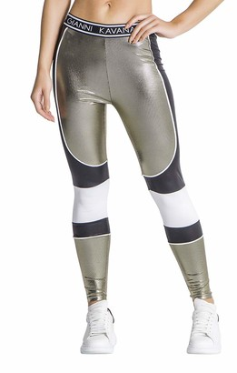 Gianni Kavanagh Women's Gold Ride or Die Collection Leggings XS
