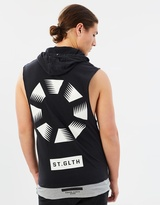 St Goliath Hector Hooded Muscle Tank