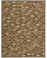 Joseph Abboud Chicago Brown Area Rug by Nourison (3'6 x 5'6)