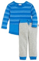 Splendid Infant Boys' Striped Tee & Jogger Pant Set - Sizes 6-24 Months