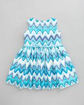 Helena Chevron Lace Dress