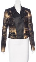 Yigal Azrouel Leather-Accented Moto Jacket