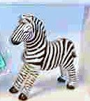 Happy Meal Disney Animal Kingdom Zebra Figurine #8 1998