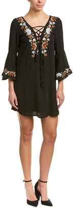 VOOM by Joy Han Voom By Joyhan Embroidered Shift Dress