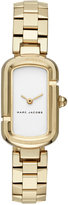 Marc Jacobs Women's The Jacob Gold-Tone Stainless Steel Bracelet Watch 20x31mm MJ3504