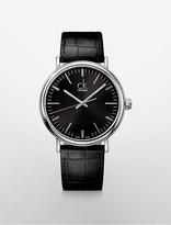 Calvin Klein Surround Leather Watch