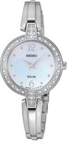 Seiko Women's Automatic Solar Stainless Steel Bracelet Watch 27mm SUP287