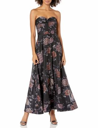 Keepsake Women's Atomic Strapless A-line Long Gown Dress