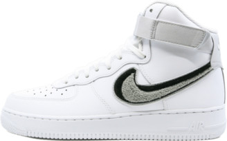 Nike Force 1 High 07 LV8 'Chenille Swoosh' Shoes - Size 10.5