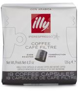 Illy iperEspresso Dark-Roasted Coffee Capsules, 18 Ct.