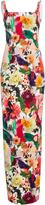 Cushnie et Ochs Delfina Floral Collage Dress