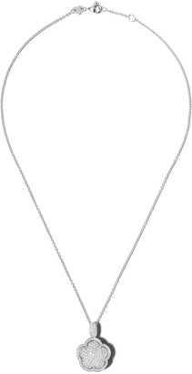 Pasquale Bruni 18kt white gold Bon Ton diamond pendant necklace