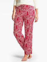 Talbots Festive Scroll Sleep Pant