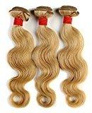 Brazilian Body Wave Color 27 Virgin Hair Weave 100% Human Hair 3 or 4 Bundles Soft Good Hand Feeling 14-22 Inches