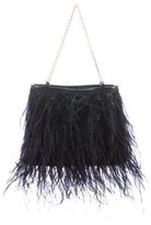 Chanel Ostrich Feather Evening Bag
