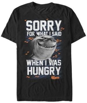 Disney Pixar Men's Finding Nemo Hungry Bruce, Short Sleeve T-Shirt