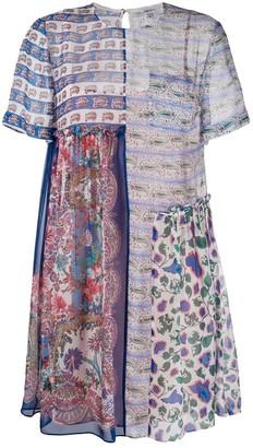 Liberty London Dina Dahlia baby doll dress
