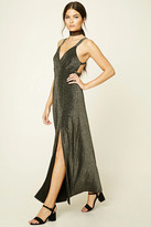 Forever 21 Contemporary Glitter Maxi Dress
